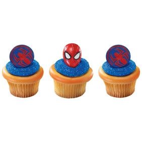 Bagues Spider Man de Decopac