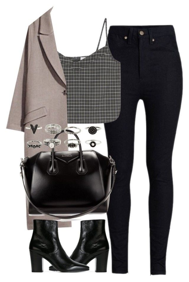 """Untitled #4138"" by maddie1128 ❤ liked on Polyvore featuring Rodarte, Givenchy and Yves Saint Laurent"