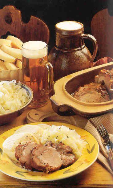 Czech greasy food