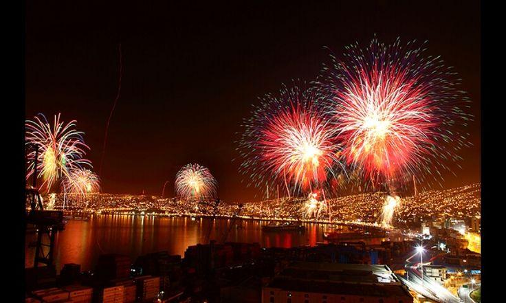 Feliz año a todos desde Valparaíso,  Chile