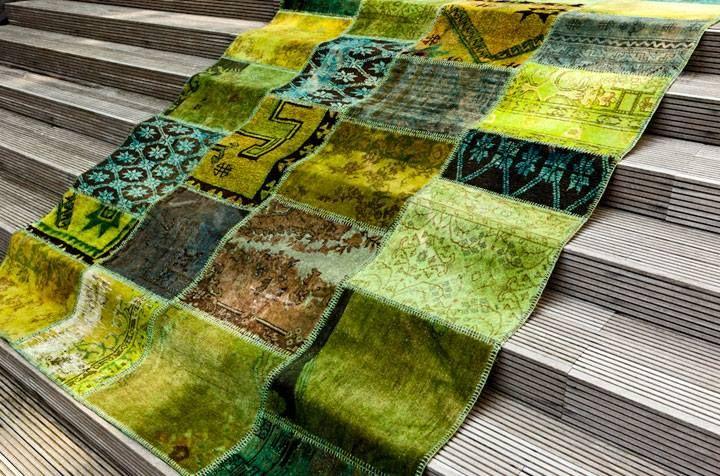 bloemen tapijt - bloemen kelim