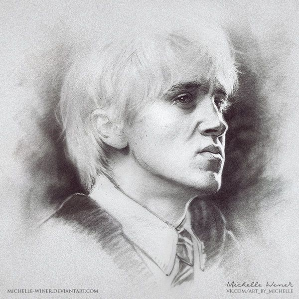 Draco Malfoy by Michelle-Winer.deviantart.com on @DeviantArt