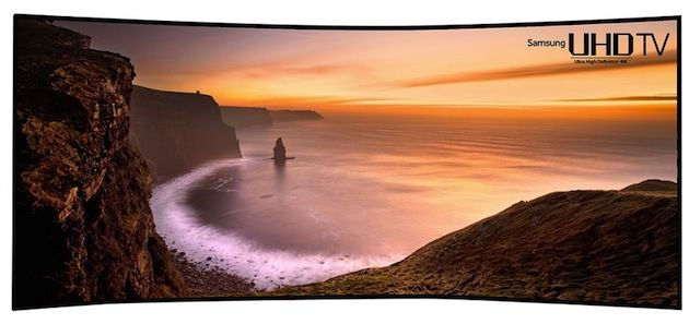 Samsung has its own 105-inch, ultrawidescreen UHD TV to show at CES