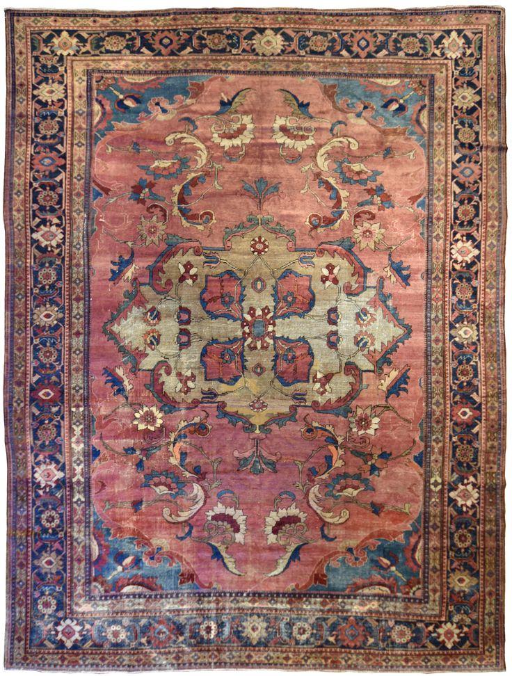 Mahal Circa 1910 Origin Persia Size 10 4 X 14