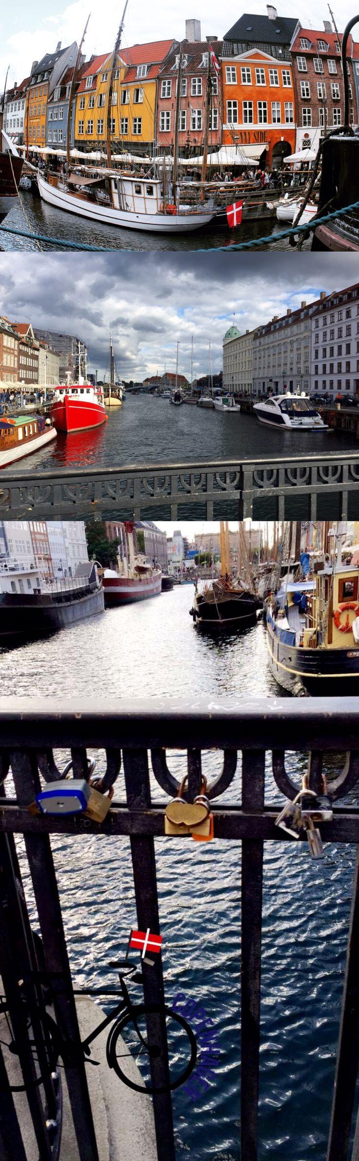 Nyhavn, cartão-postal de Copenhague!