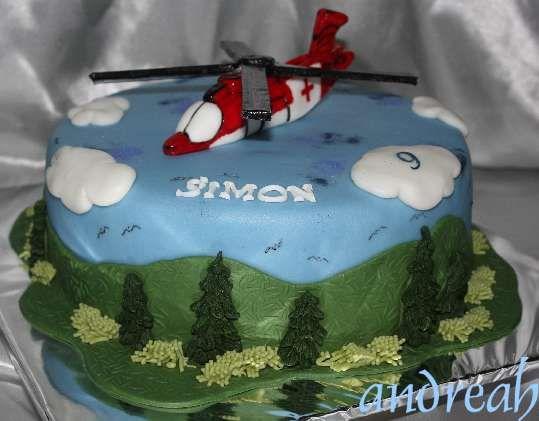 zväčšiť - Záchranářský vrtulník pro 9 letého chlapce na narozeniny