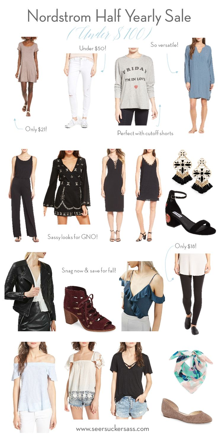 Hottest picks from the Nordstrom half-yearly sale... all under $100!