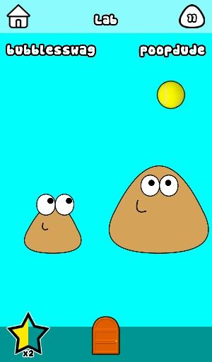 THIS IS A GAME CALLED POU!!!