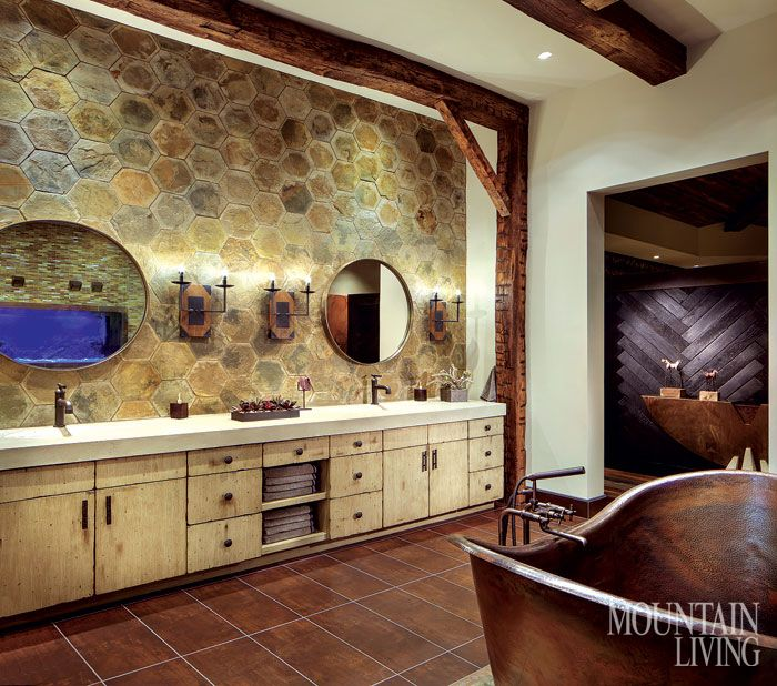 Best Photo Gallery Websites A Fantasy Family Getaway in Arizona A design team breaks new Rustic Bathroom