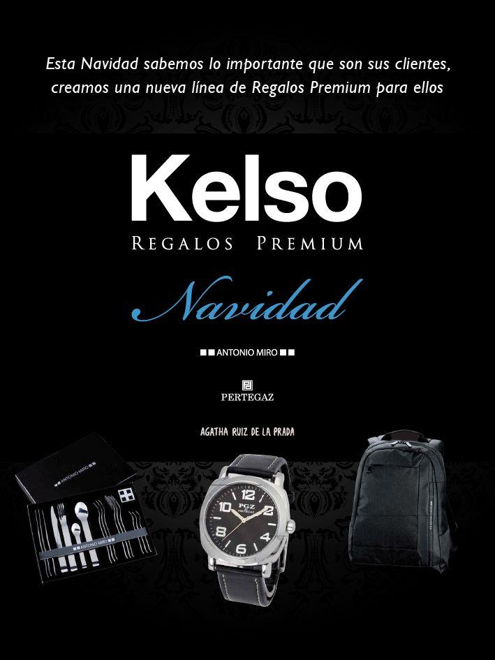 Creamos una nueva línea de Regalos Premium. Regale a sus clientes en esta Navidad con las mejores marcas Antonio Miró, Pertegaz y Agatha Ruiz de la Prada. Revisa el catálogo en el siguiente link http://www.myepublish.com/kelsopremium/
