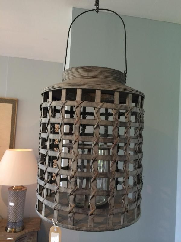 nautical woven bamboo lantern lighting pinterest lanterns nautical and bamboo. Black Bedroom Furniture Sets. Home Design Ideas