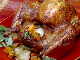 Bobby Flay Recipes: Thanksgiving Pioneer-Style Herb Roasted Turkey