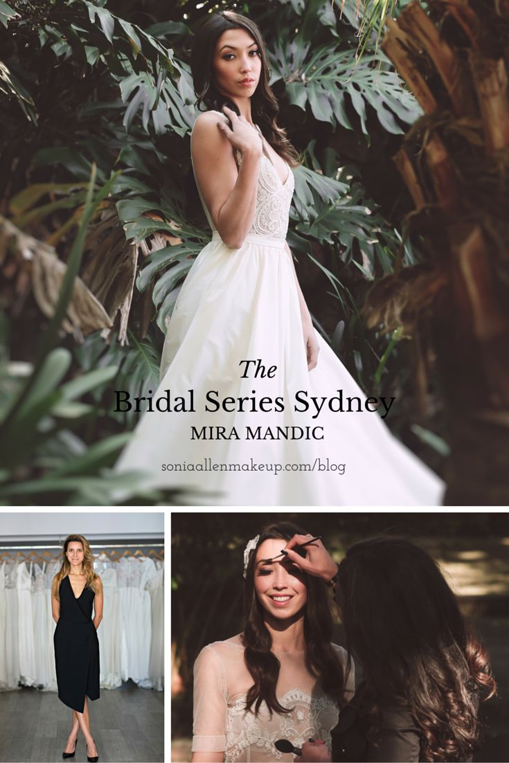 THE BRIDAL SERIES SYDNEY: MIRA MANDIC (Wedding Collection: Apr 2016) The Mira Mandic design house is one of Australia's oldest wedding couturiers.  Head designer Morgan Mandic now profiled for The Bridal Series Sydney. http://soniaallenmakeup.com/blog/the-bridal-series-sydney-mira-mandic/