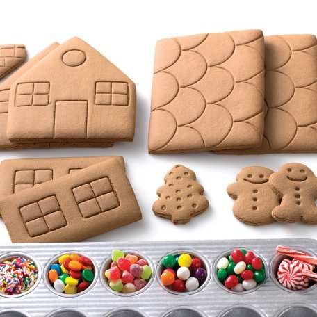 Gingerbread house kit this gingerbread house kit makes assembly