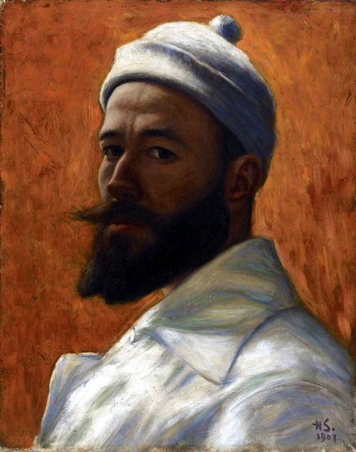 Hugo Simberg - Self-Portrait, 1907