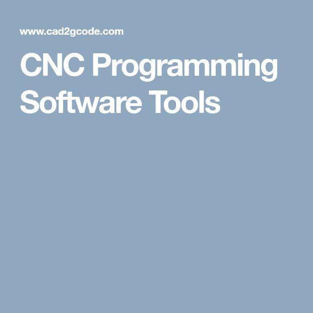 CNC Programming Software Tools