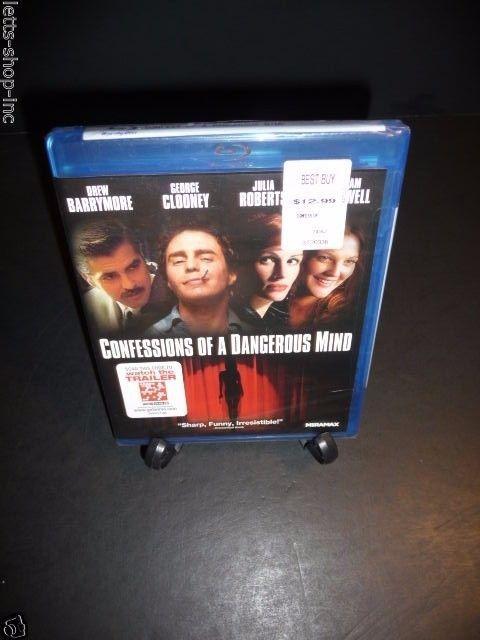 Confessions of a Dangerous Mind (Blu-ray Disc, 2011)Julia Roberts, Drew Barrymor 1
