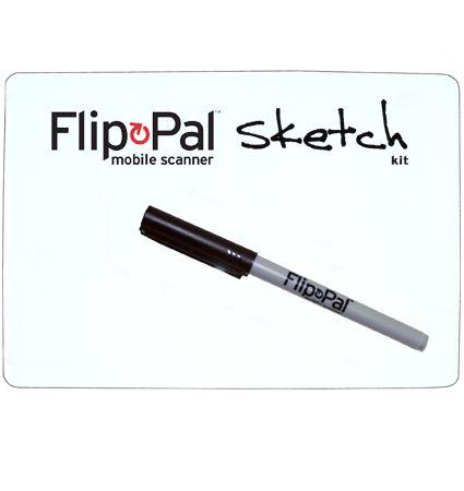 Flip-Pal mobile scanner Sketch Kit  $13.99 #flippal #scanners