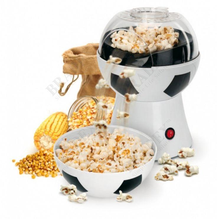Аппарат для приготовления попкорна «МЯЧ» АРТИКУЛ: TK 0152 Настоящий кинотеатр с горячим ароматным попкорном дома – это проще простого! С аппаратом для приготовления попкорна «МЯЧ» Вы с легкостью приготовите вкуснейший попкорн, не боясь, что он подгорит, а часть зерен не взорвется. И наконец-то Вы сможете сделать попкорн достаточно соленым или сладким, таким, как хотите именно Вы.  Преимущества: •  Стильный дизайн •  Компактный размер •  Удобное использование •  Простое извлечение…