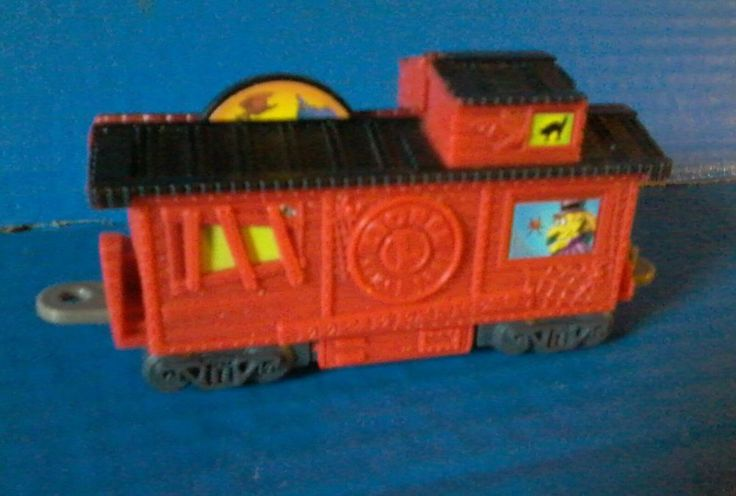 Loose WENDYS KIDS MEAL LIONEL EERIE EXPRESS TRAIN - RED CABOOSE Railroad Car #Lionel