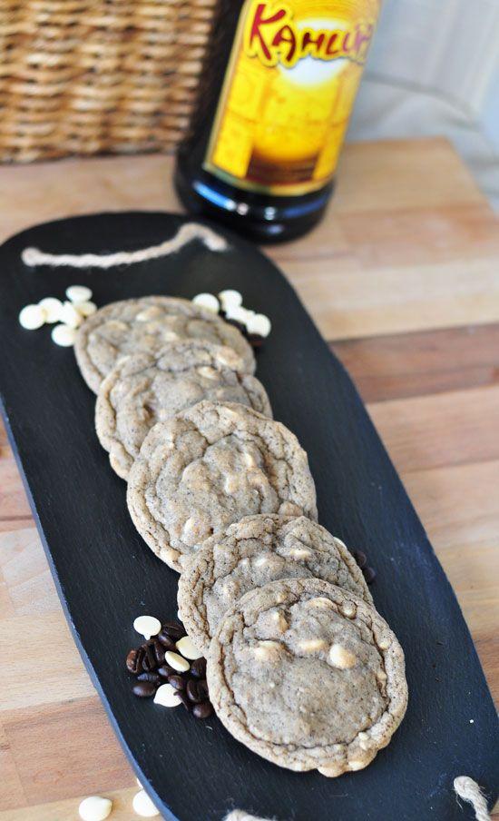 Kahlua White Russian Cookies - Life Made Sweet | Life Made Sweet