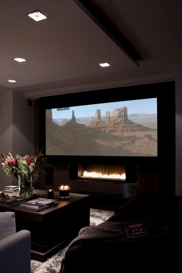 Awesome Home theater Designs for Small Rooms