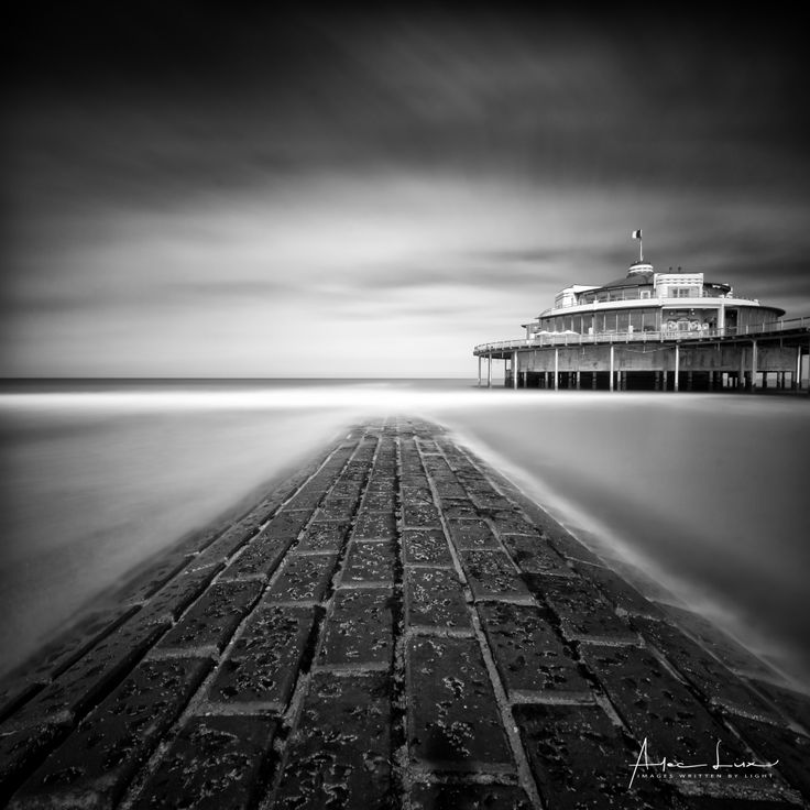 Blankenberge Pier in B&W II - Blankenberge has much more to give than I thought. I went several times now, I always discover something different.. I went back again to take some shots of the Pier, I made some more long exposures. #BW #beach #belgium #blackandwhite #blackandwhitephotography #blankenberge #breakwater #clouds #groyne #landscape #landscapephotography #leaves #longexposure #longexposurephotography #nature #naturephotography #ocean #pier #pontoon #scenic #sea #seascape…