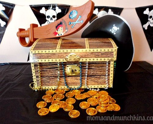 Jake & The Never Land Pirates Party Ideas (includes free printables) #KidsParties