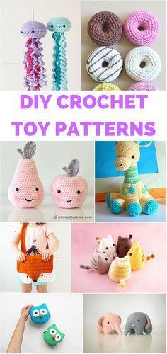 Patrons crochet jouets