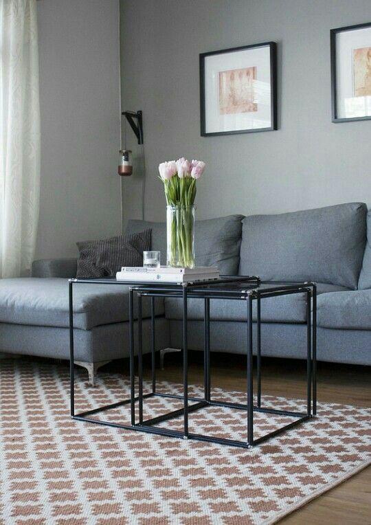 Scandinavian living room by st-black.blogspot.fi