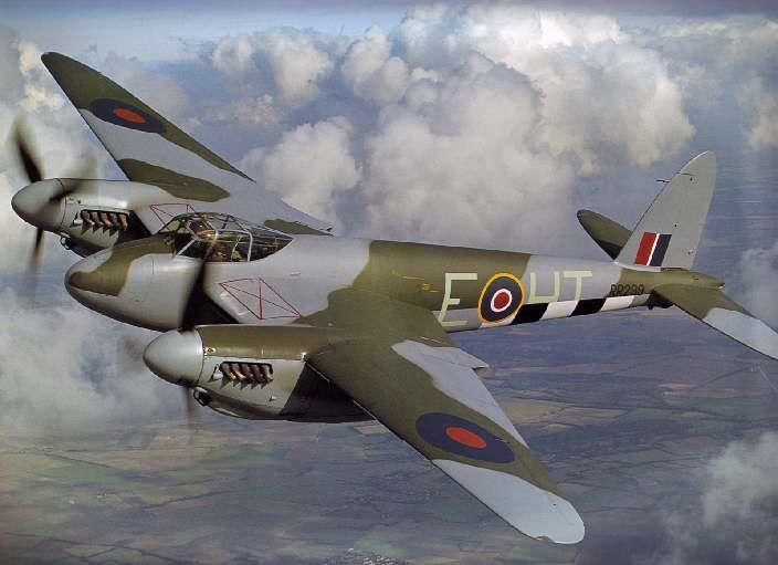 De Havilland DH.98 'Mosquito' [Bombardero Ligero]