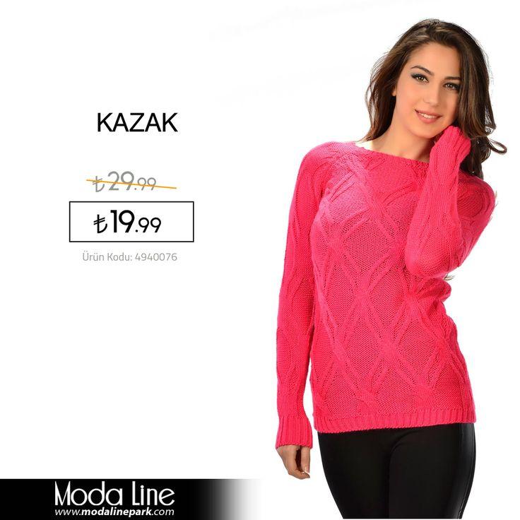 Modalinepark.com'un sizin için seçtiği #kazaklar ile sen sussanda tarzın konuşacak!