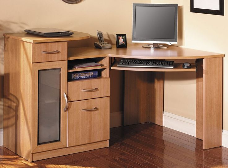 1000 ideas about corner computer desks on pinterest computer desks desk with hutch and l shape - Corner computer desks for small spaces ideas ...