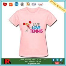 Custom pure cotton crewneck tennis printed t shirt women best buy follow this link http://shopingayo.space
