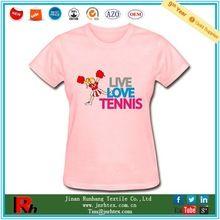 Custom pure cotton crewneck tennis printed t shirt women best buy follow this link http://shopingayo.space