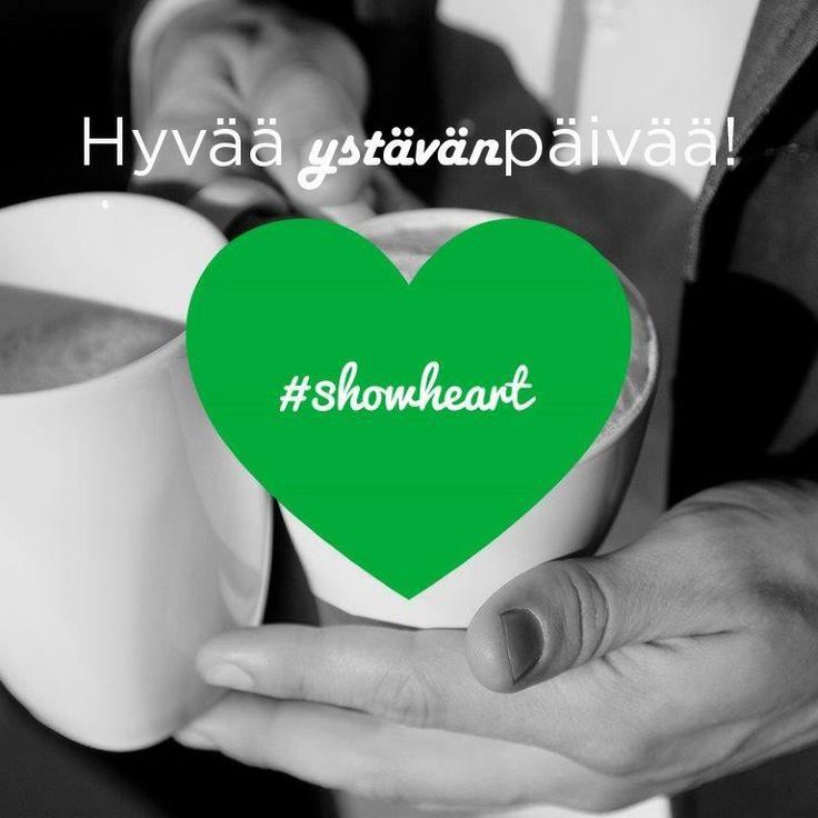 Sydämmellistä ystävänpäivää kaikille!  - koko Academic Workin väki  #showheart