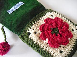 crochet: Crochet Ideas, Crochet Bags Pur, Bags Crochet, Crochet Motif, Cell Phones, Crochet Phones Motif, Crochet Purses, Pochett Rosella Christmas, Knits