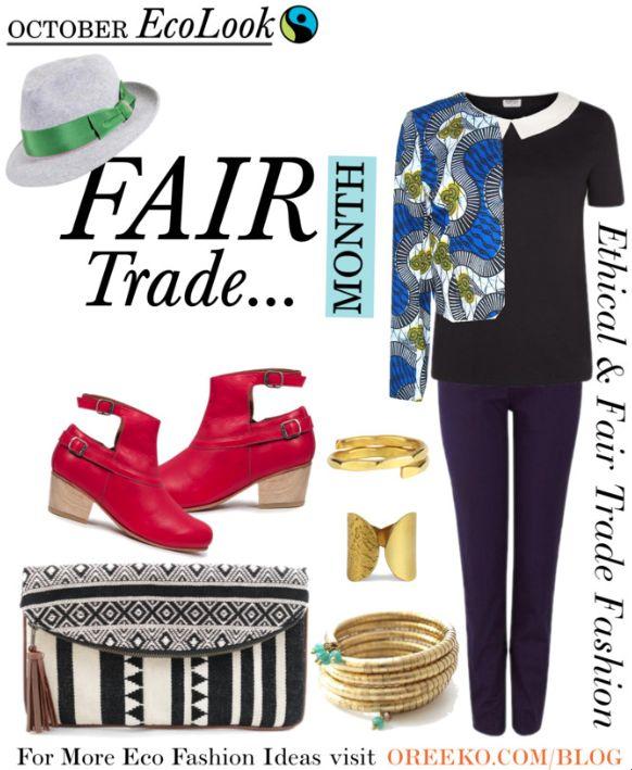 October Eco Look – Fair Trade Month via oreeko.com