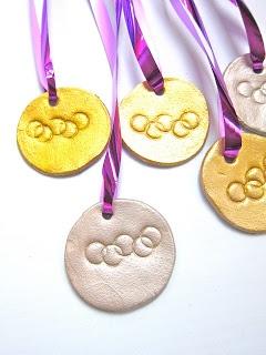 medallas olimpicas de masa de sal