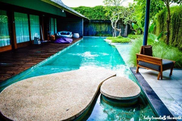The Santai Umalas private pool villa