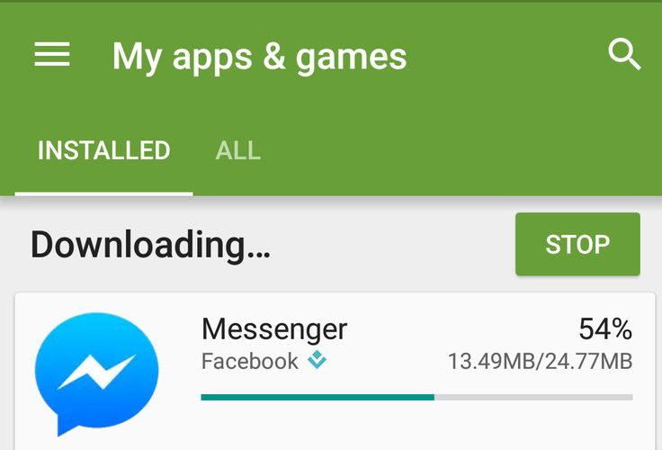 Download Apps at Play store