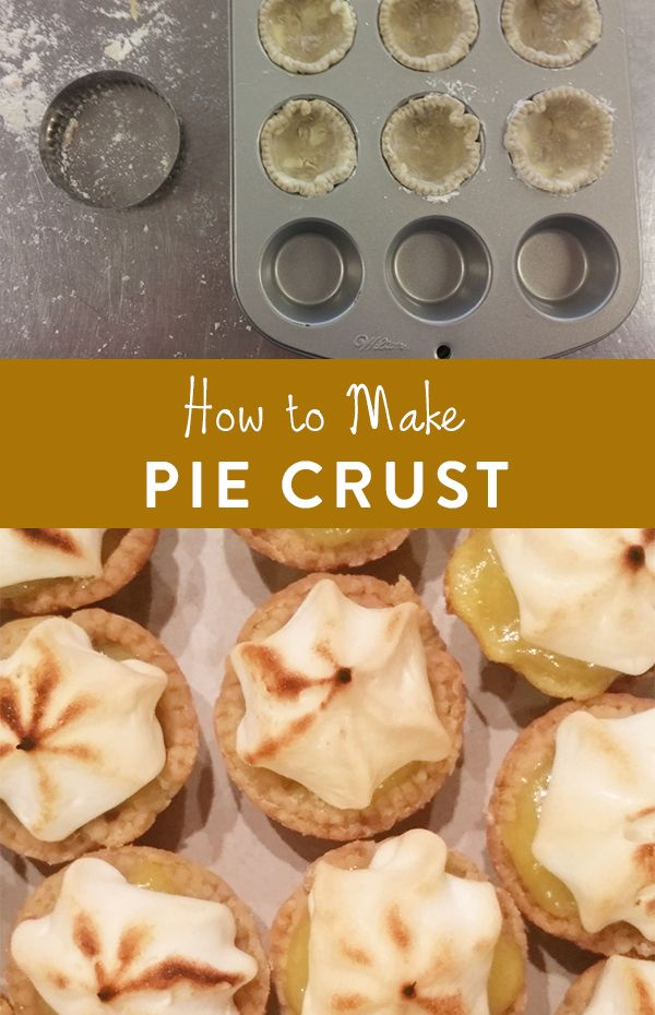 How to Make Pie Crust - Don't fear the pie crust! Here's your guide to making the perfect pie crust.