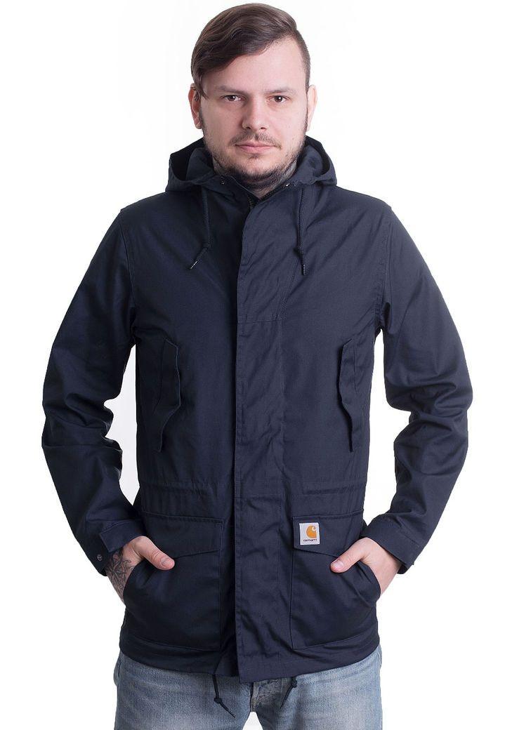 a84070b22bf Carhartt WIP - Battle Parka Navy - Jacket - Streetwear Shop - Impericon.com  UK