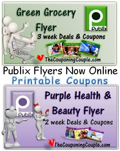 The Publix flyers are BOTH online now. That means PRINTABLE publix coupons Click the link below to get all of the details ► http://www.thecouponingcouple.com/publix-printable-coupons-from-flyers-grocery-and-healthbeauty-ads-online/  #Coupons #Couponing #CouponCommunity  Visit us at http://www.thecouponingcouple.com for more great posts!