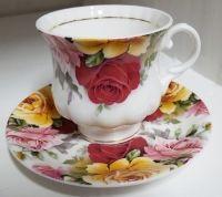 Koffiekopje van Rose Garden