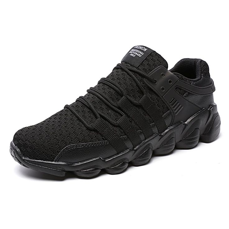 Lightweight Fashion Sneakers Casual Sport Shoes for Men (11, black). Stretch fabric rubber sole. Applications:Casual,Walking,Running,Outdoor,Travel,Exercise,Workout Round Toe shoes,keet feet comfortable all day. The non-slip MD soles with high elasticity and good softness can be bended freely.Perfect accord with human body engineering, green, healthy concept design. Comfortable slip-on round toe,easy to pull on and off.Super light and flexible synthetic sole,you will not feel any burden...