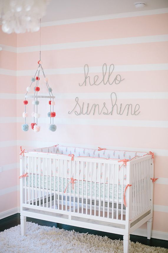 Unique Light Pink Nursery Walls Ideas On Pinterest Light - Light pink nursery decor