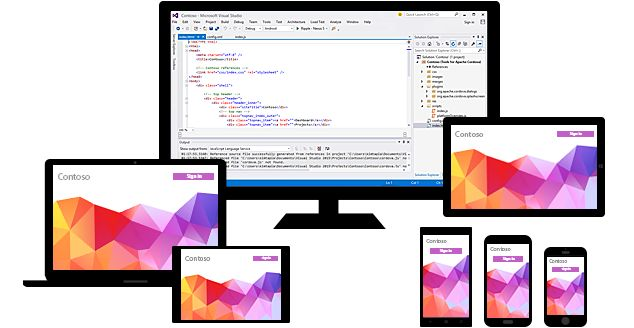 Visual Studio Tools for Apache Cordova