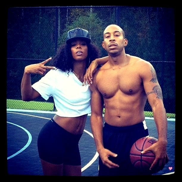 Ludacris and Kelly Rowland