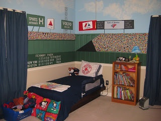 33 best images about boston red sox rooms wo man caves for Audience wall mural